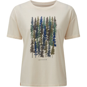 tentree Spruced Up Relaxed T-Shirt Dame elm white heather